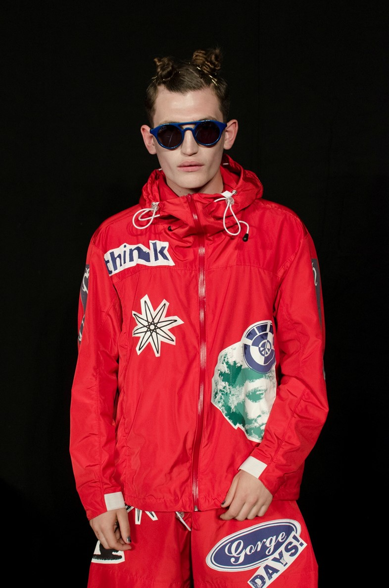 Christopher Shannon SS15 LC:M Dazed backstage