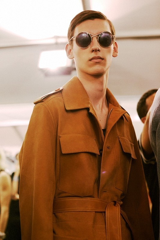 Backstage at Louis Vuitton SS15, Dazed