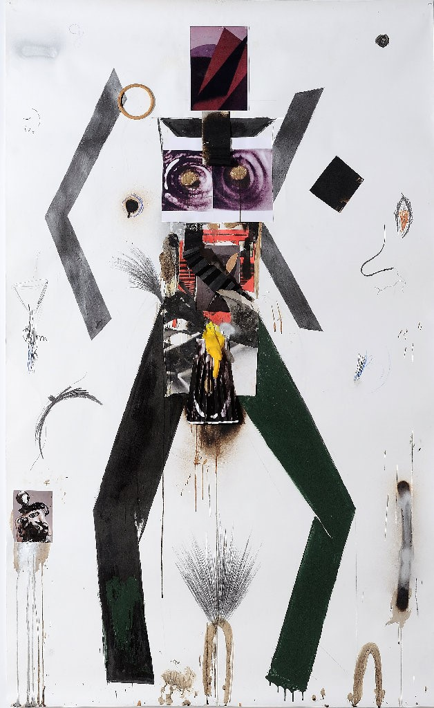 Jannis Varelas, F.X.B. 1266, 2010, mixed media on