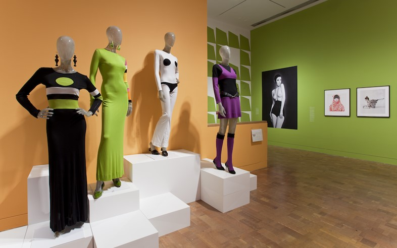 Installation view of The Total Look: The Creative