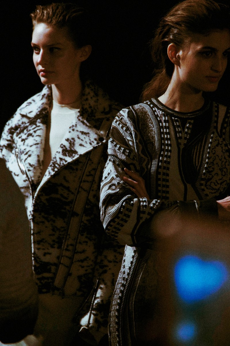 Backstage at rag & bone AW14