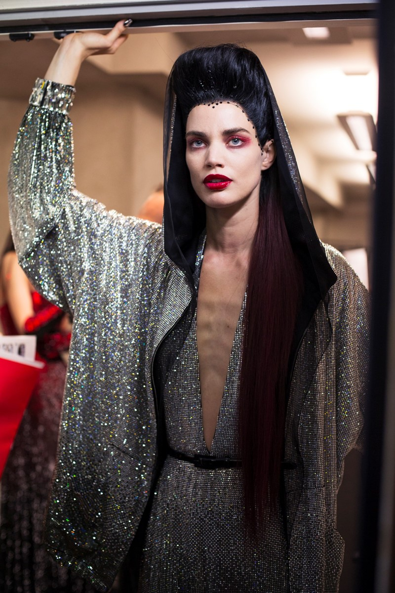 Dazed Backstage Jean Paul Gaultier Haute Couture AW14