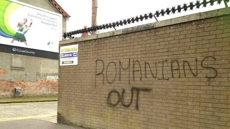 romanians out