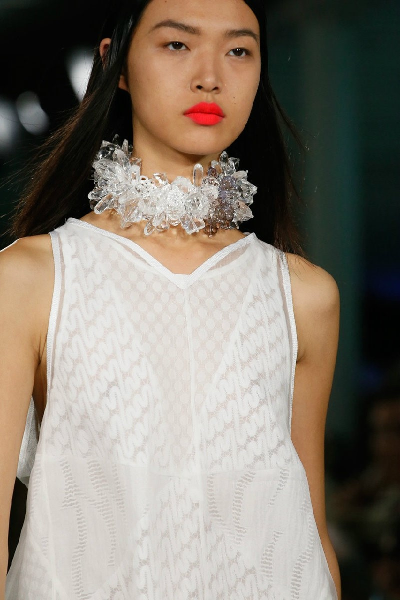 The neck crystals from Missoni