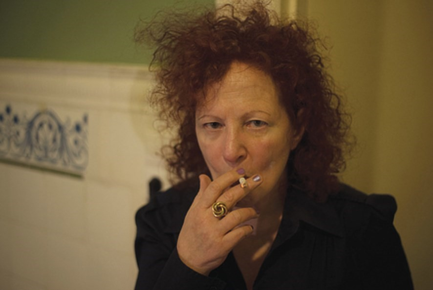 Nan Goldin, Self Portrait 1st Time on Oxy, Berlin, 2014