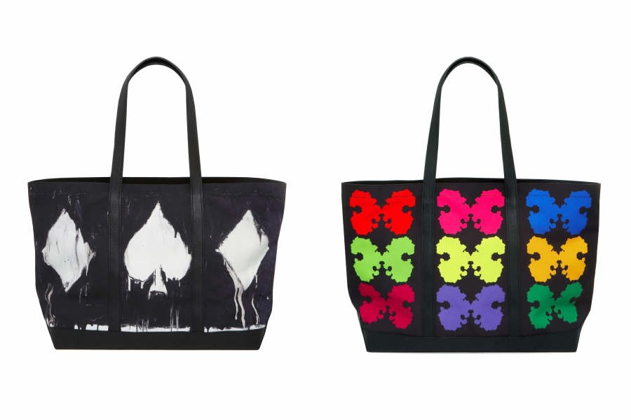 Mulberry totes by Philip Jones and Paul Hoskings