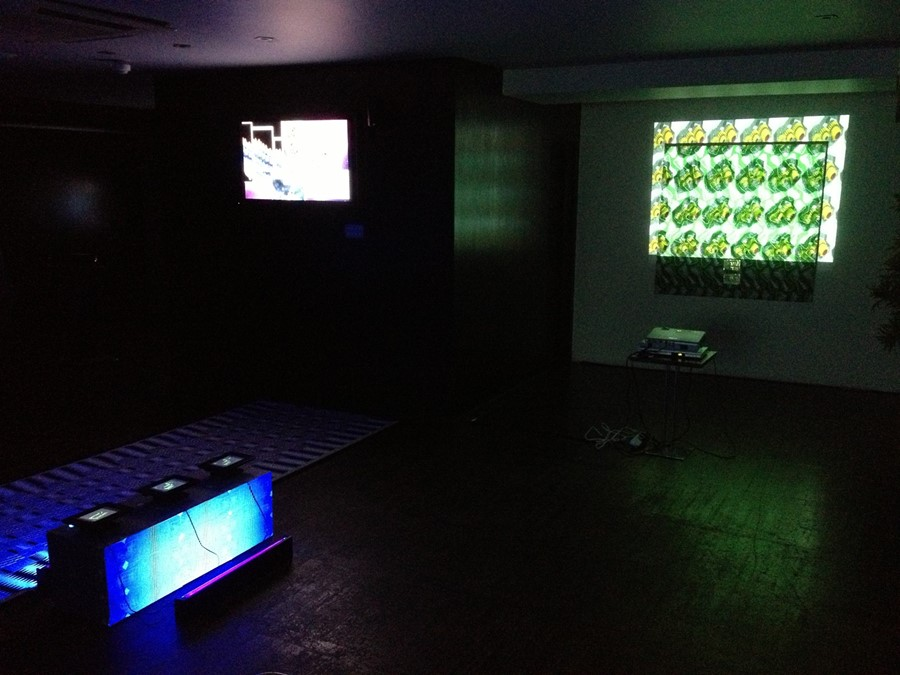 Digital Baroque, installation view, 2012