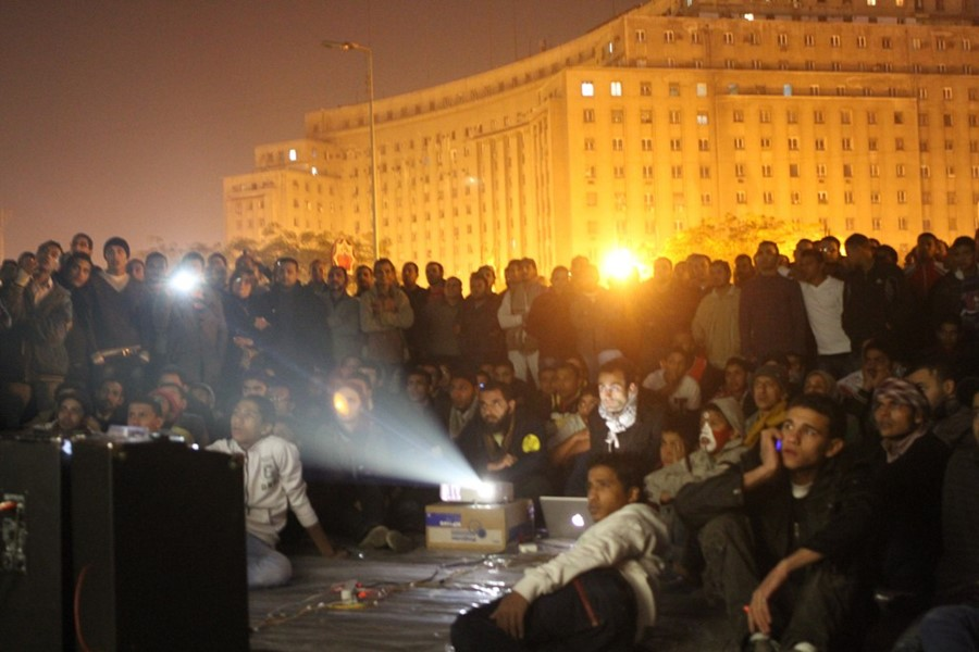 Mosireen Collective, Tahrir Cinema