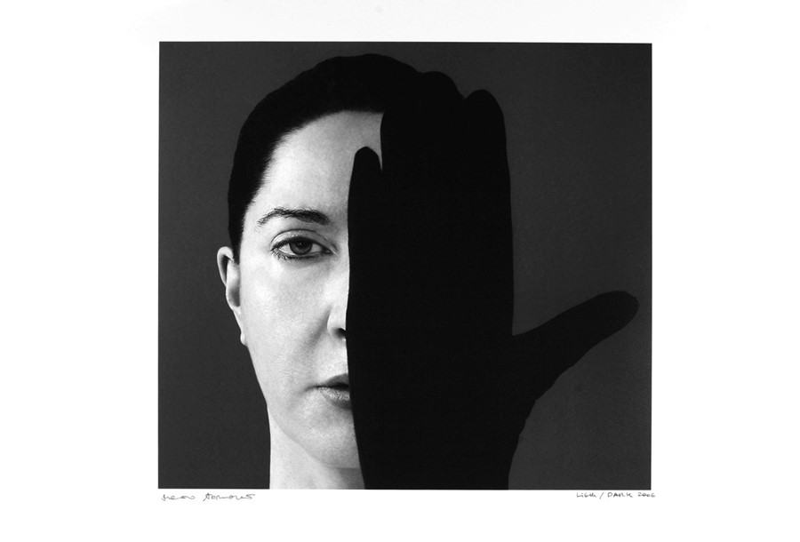 Marina Abramovic_Light_ Dark (c) Courtesy Galerie