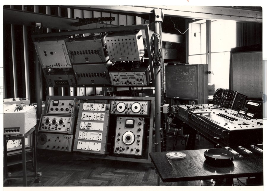 4. Photo of Experimental Studio of Polish Radio in