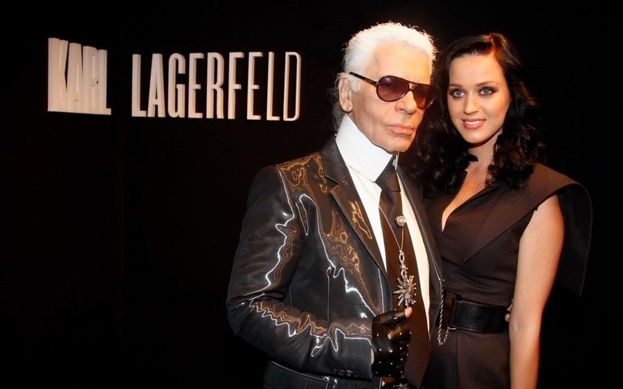 Katy Perry Karl Lagerfeld