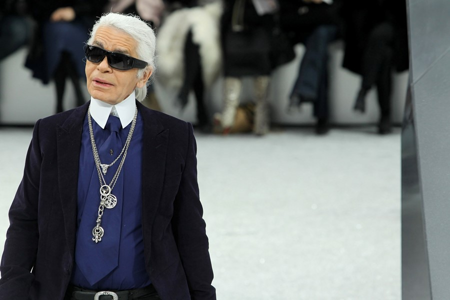 Karl Lagerfeld diamond chain