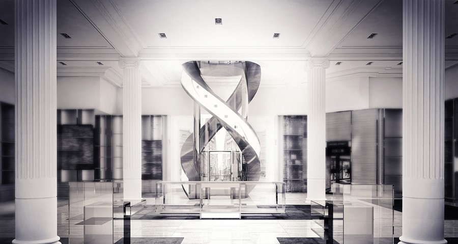 Louis Vuitton Townhouse Sketch