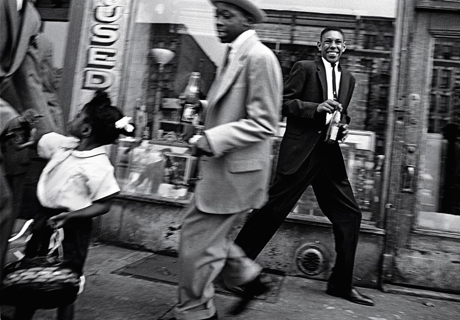 """Moves + Pepsi"", Harlem, New York 1954-55"