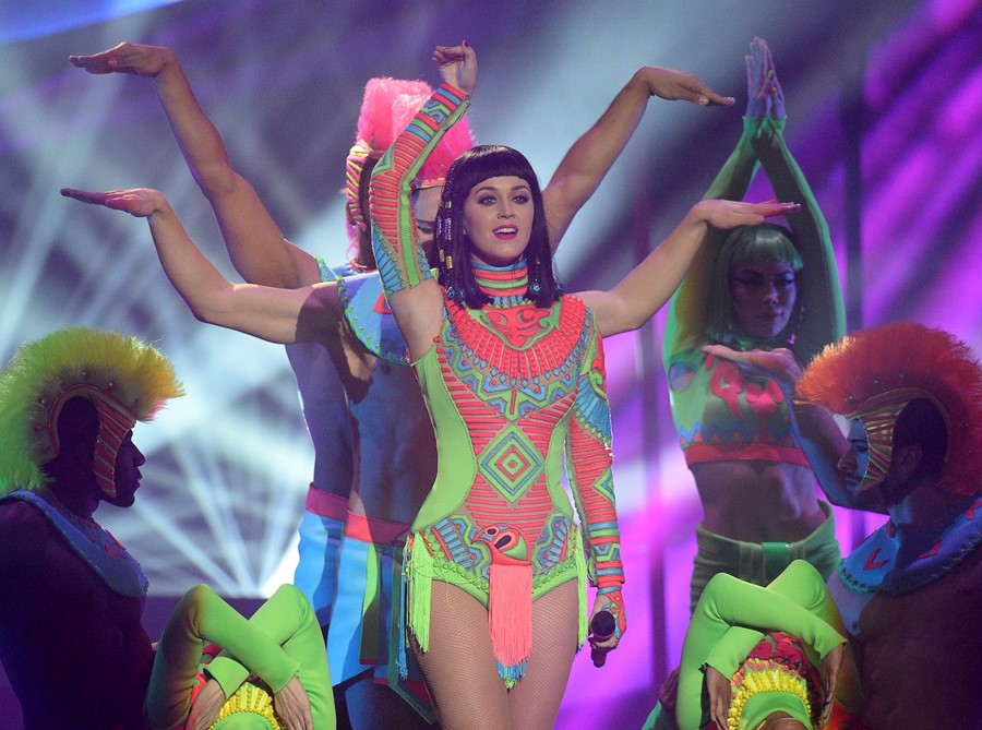 Katy Perry Brits 2014 Dark Horse