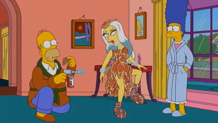 ladygagasimpsons