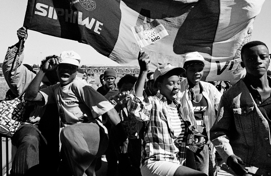 The End Of Apartheid Dazed