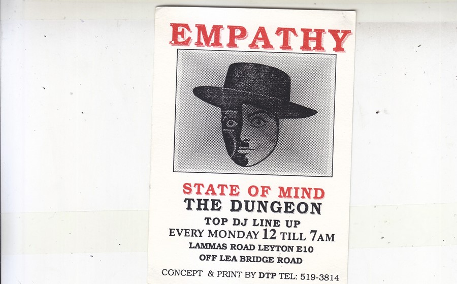 Empathy Martine Rose rave flyers