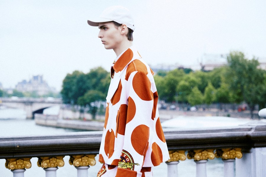 Kenzo SS15 Mens collections, Dazed