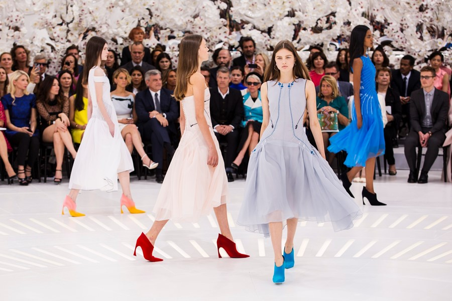 Dior Haute Couture AW14 in Paris Susie Bubble