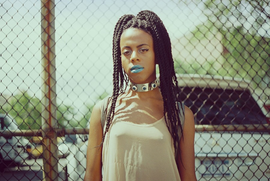 Juliana Huxtable shot by Petra Collins