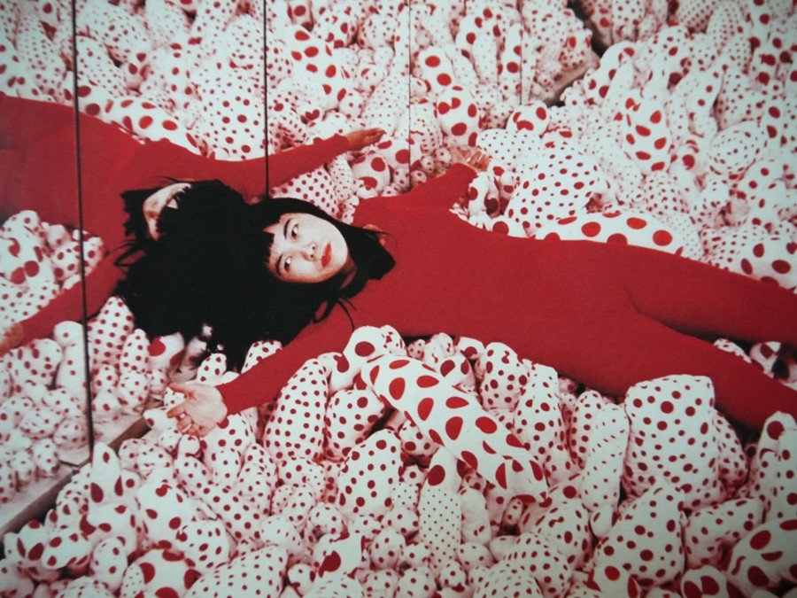 yayoi-kusama-at-The-Centre-1024x768