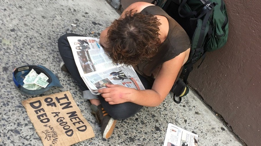 Homeless NYPD