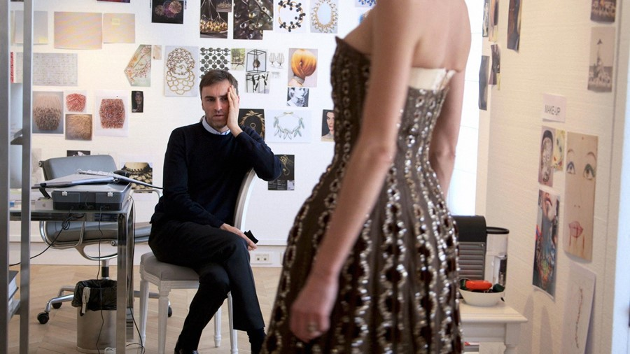 Raf Simons opens up about the breakneck pace of fashion