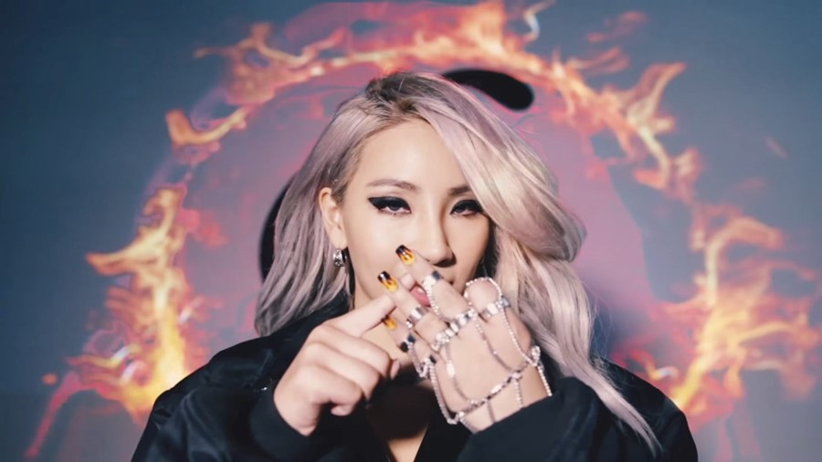 "CL in ""Hello Bitches"""