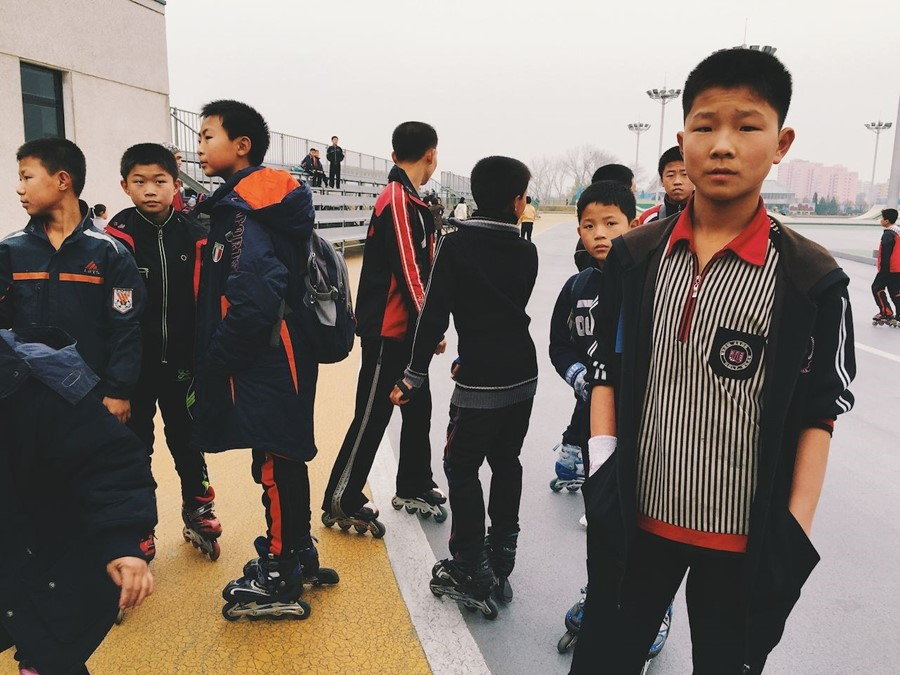 Capturing daily life inside North Korea, on an iPhone