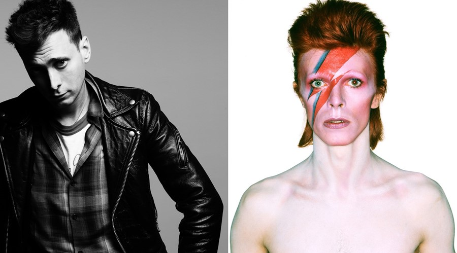 Hedi Slimane and David Bowie personal tribute