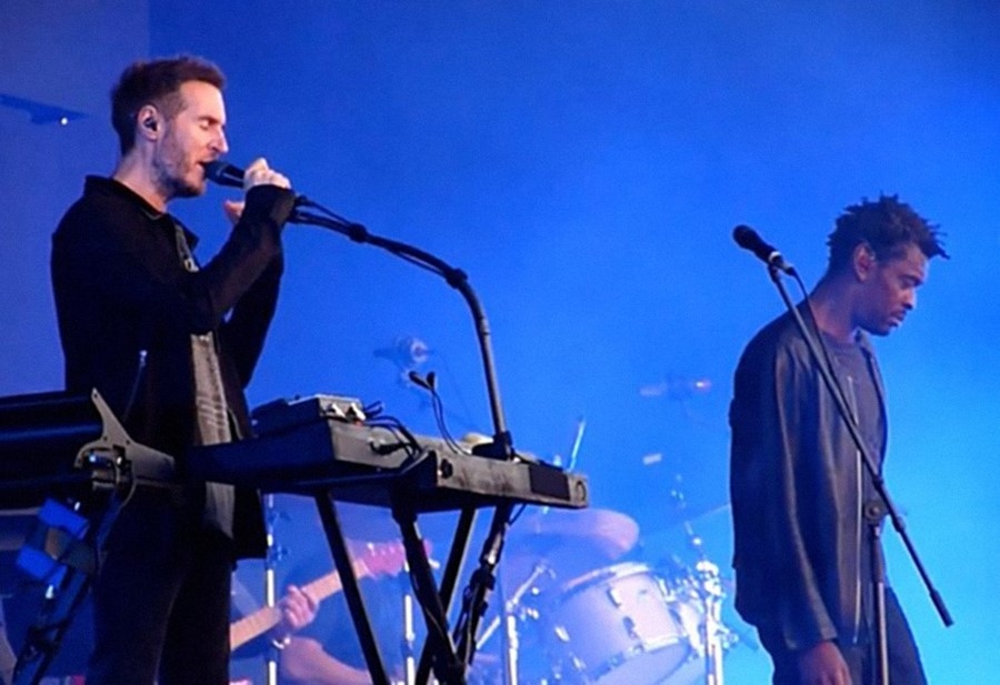 Massive Attack address Brexit at London concert