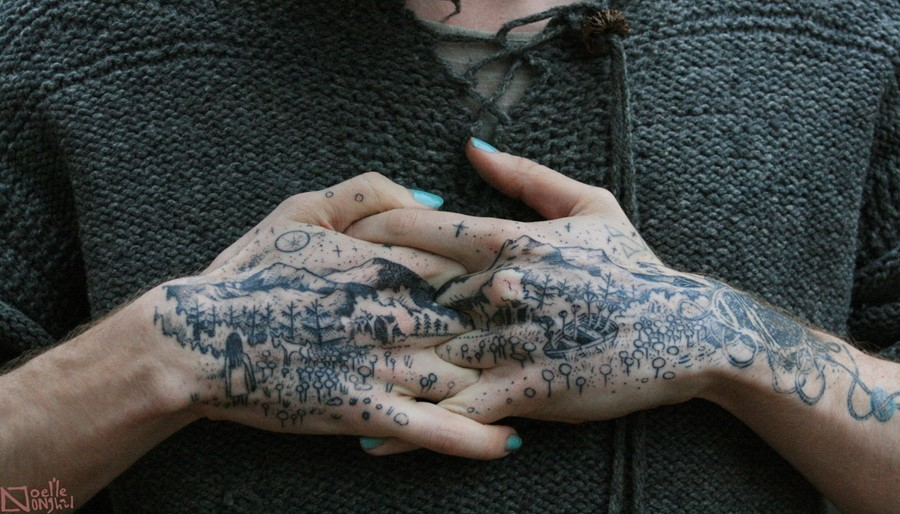 Inside the mysterious world of witch tattoo art