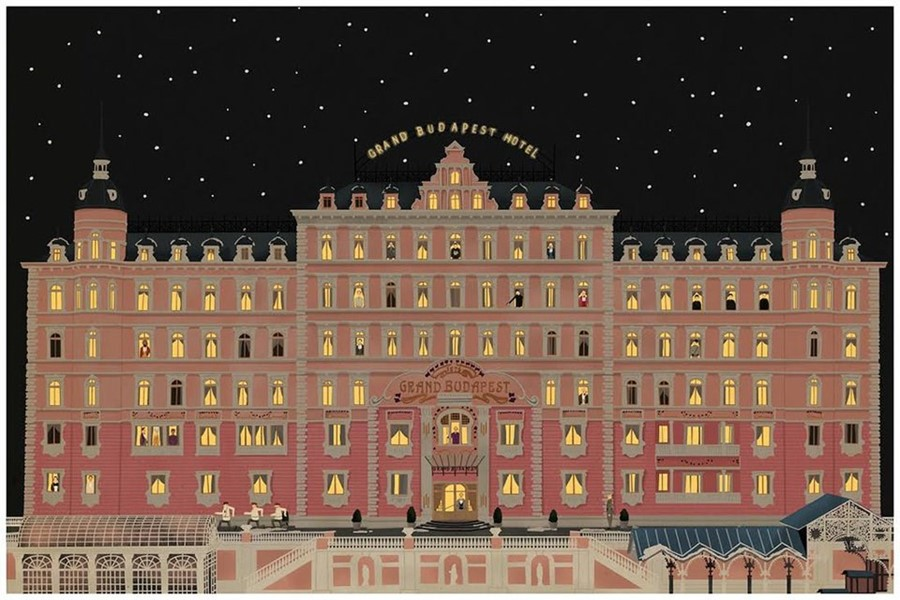 Grand Budapest Hotel Wallpaper: The Wes Anderson Collection: Bad Dads