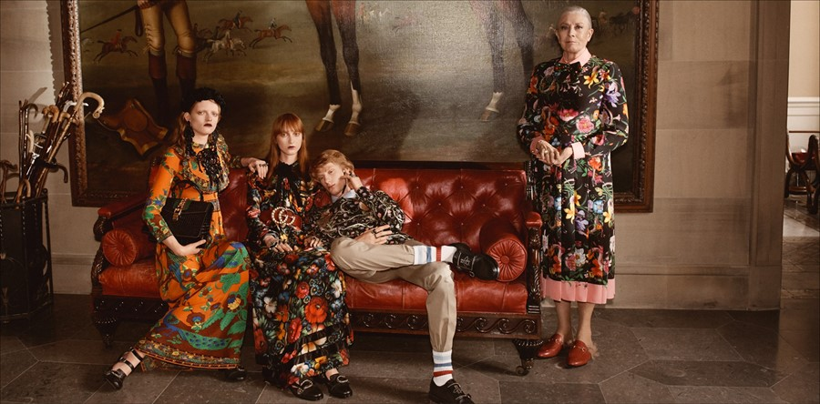 Gucci Cruise 2017 Ad Campaign Dazed