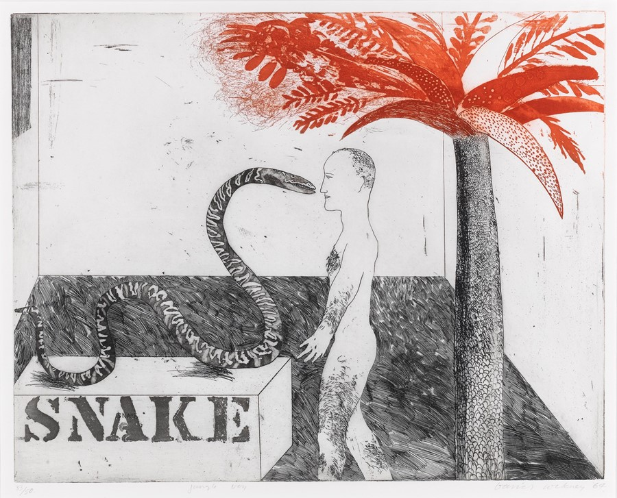 Never-before-seen David Hockney art is coming to London
