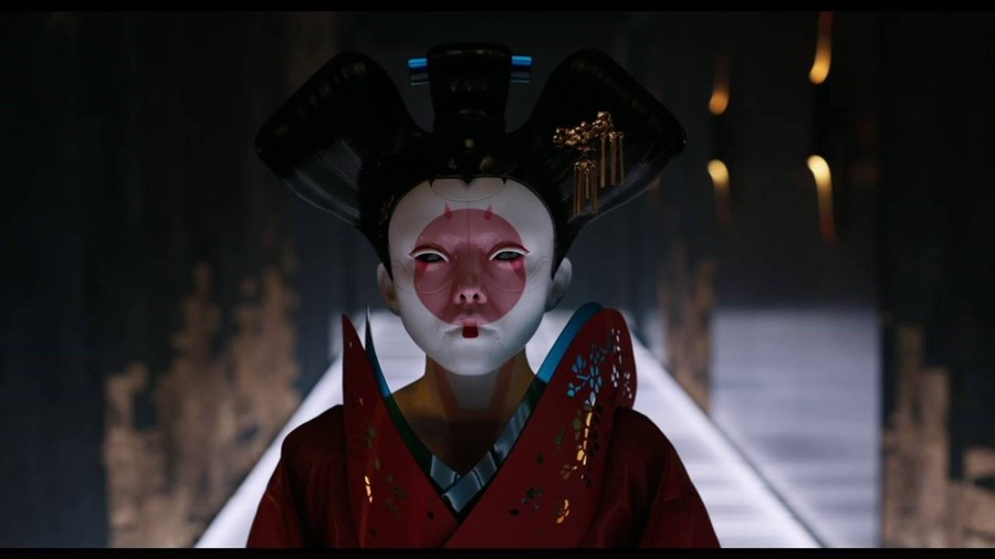 Ghost in the Shell geisha