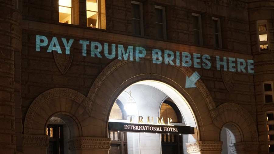 Pay Trump Bribes Here