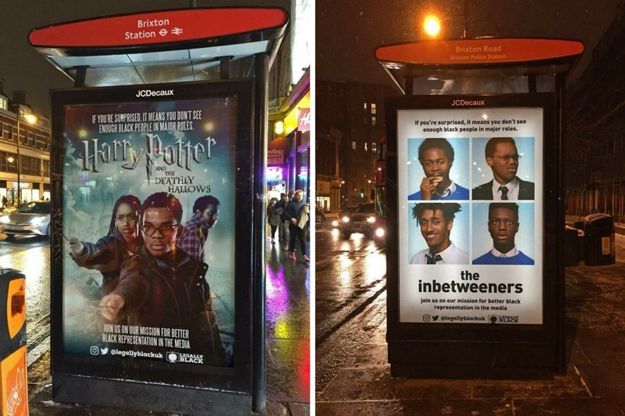 Meet the teens who replaced white actors with black people in movie posters