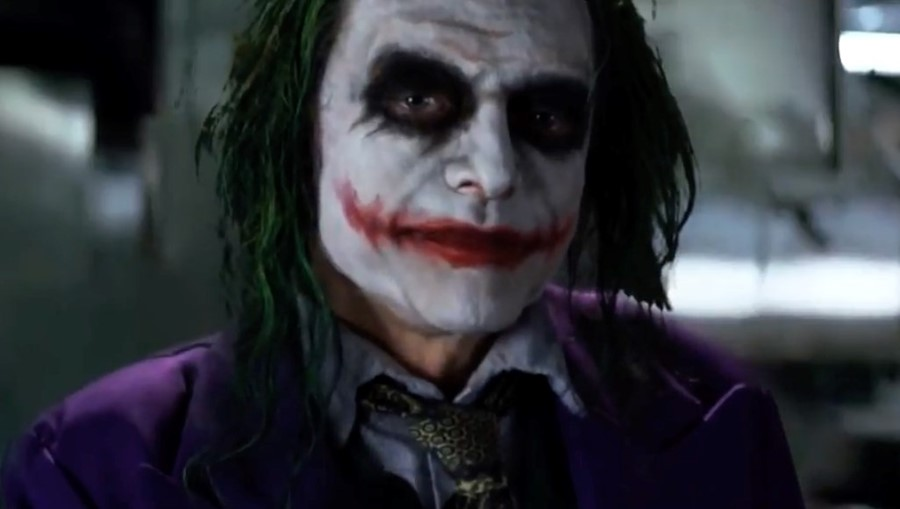 tommy wiseaus joker audition tape has been edited into the dark knight