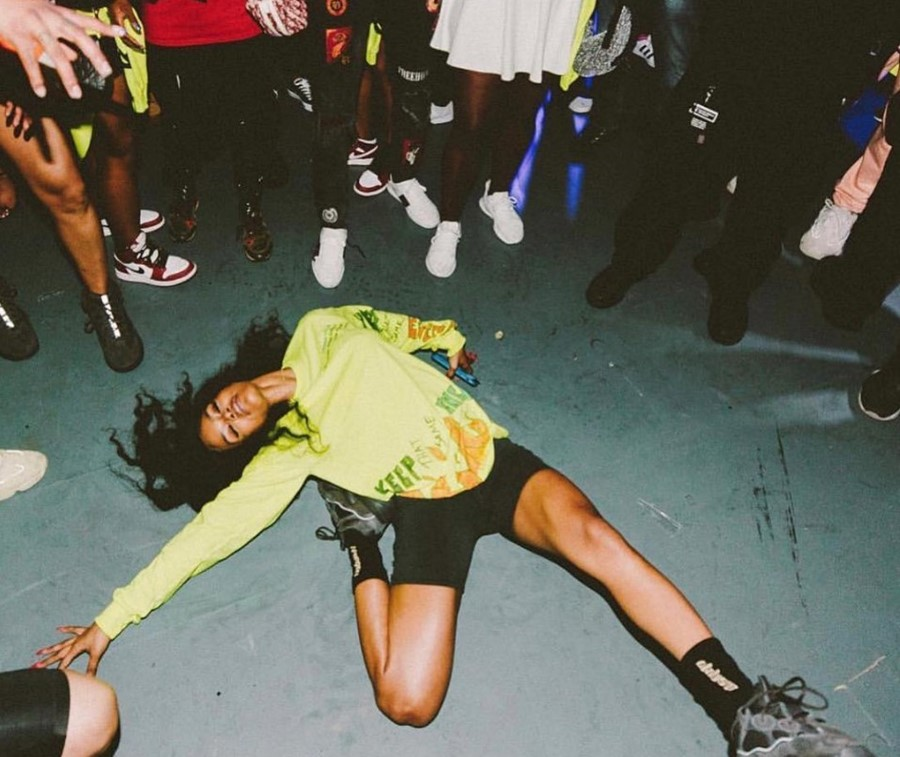 Teyana Taylor at K.T.S.E. listening party
