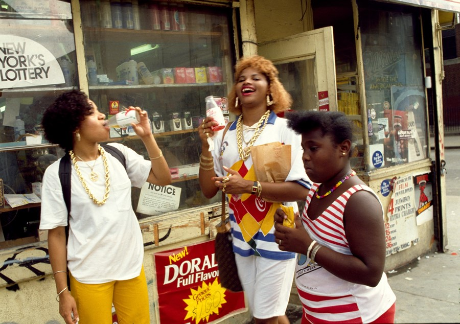 The stories behind these candid photos from hip hop's earliest days