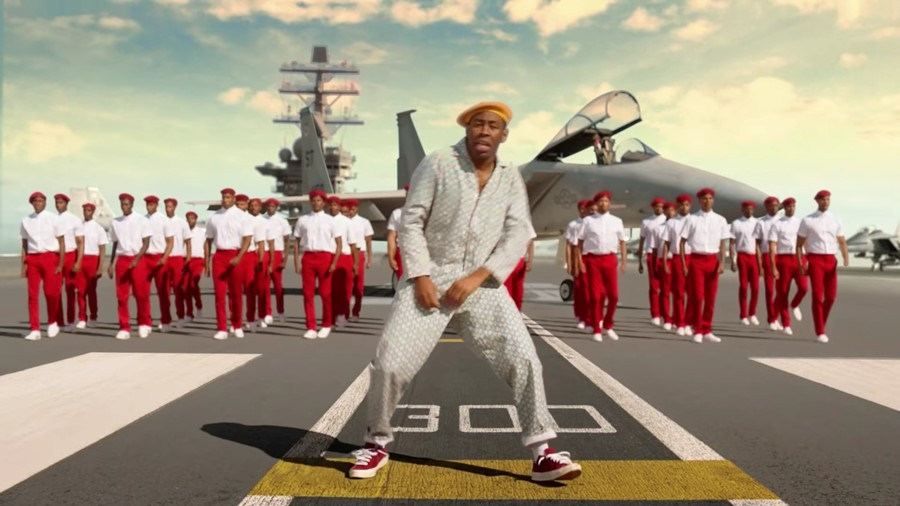 Tyler, the Creator joins the navy