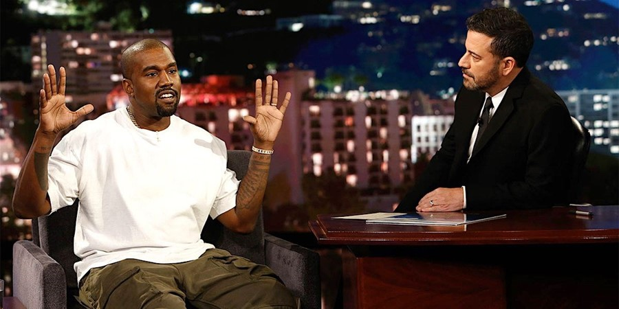 Jimmy Kimmel shuts down Kanye West's love for Donald Trump