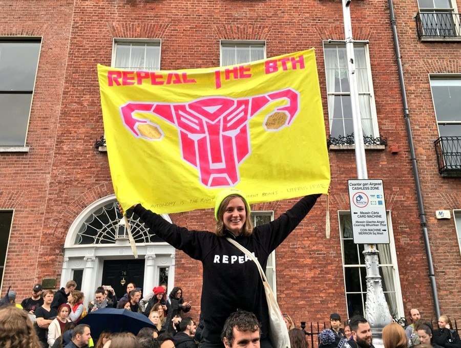 The Repeal the 8th movement, Ireland