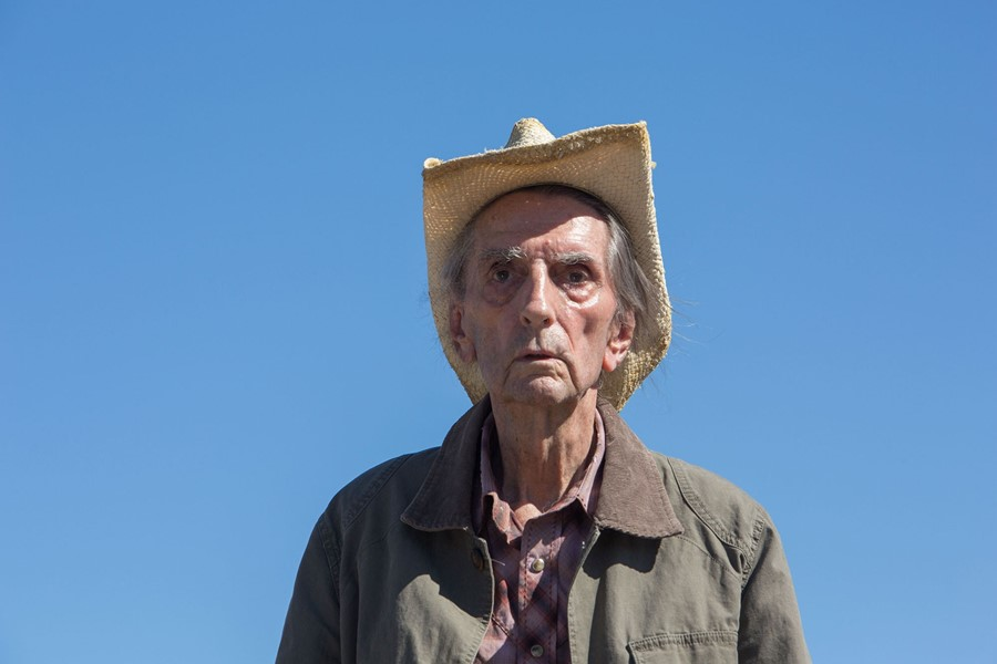 Speaking to the director of Harry Dean Stanton's last lead role, in Lucky