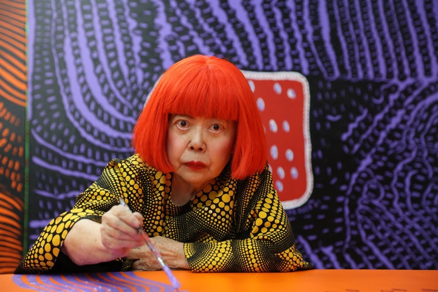 Yayoi Kusama is fighting back against rip-offs of her work