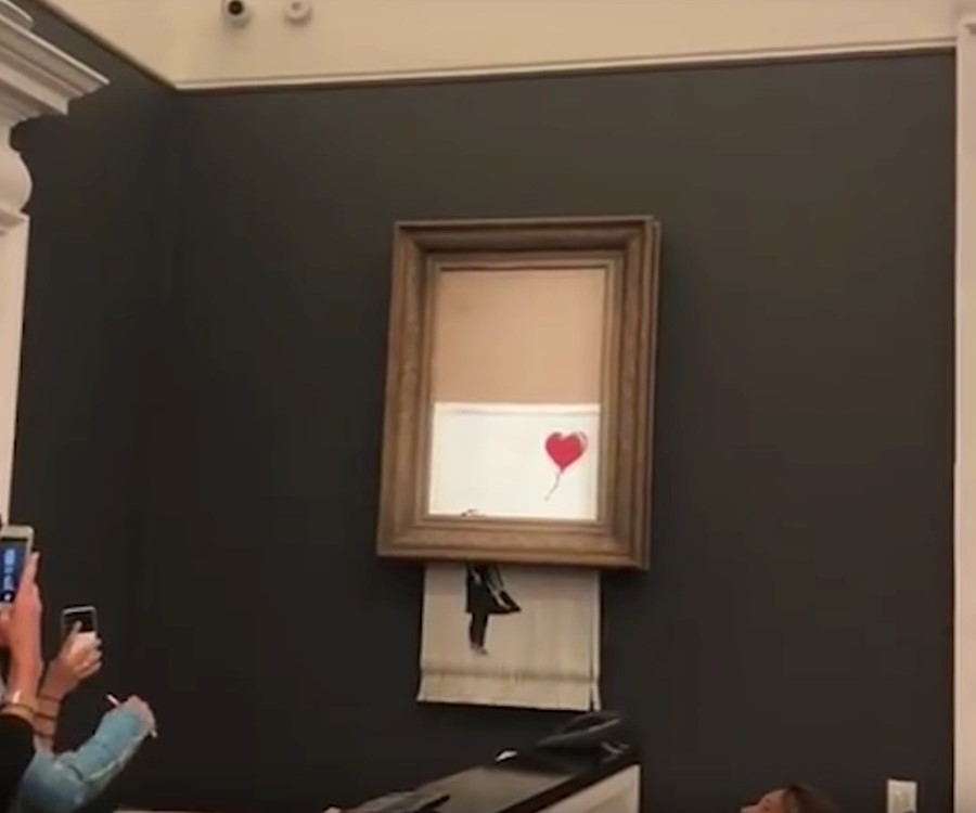 Banksy's self-shredding artwork gets a cheeky new name