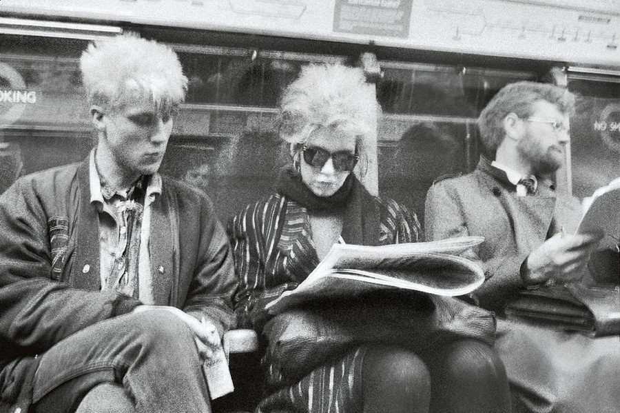 Vintage 80s: London Street Photography, Johnny Sti