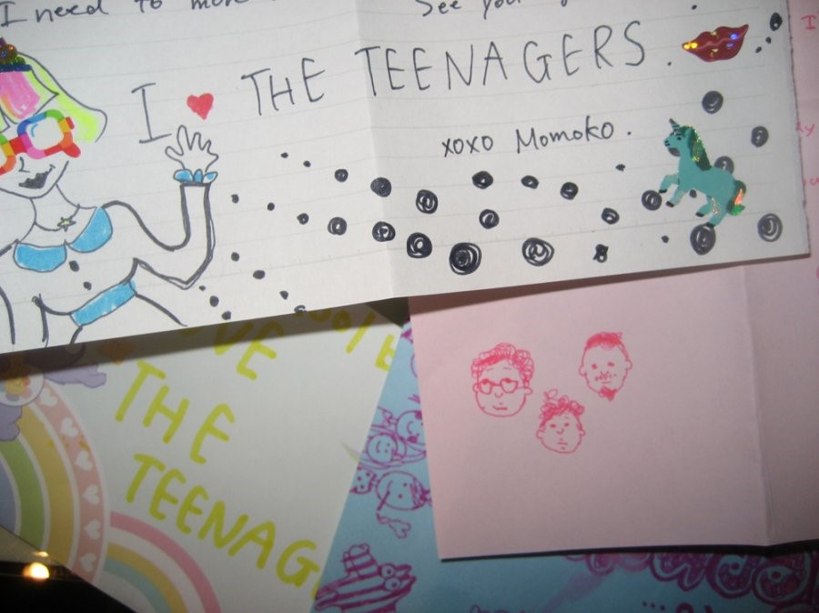 Fan mail for The Teenagers